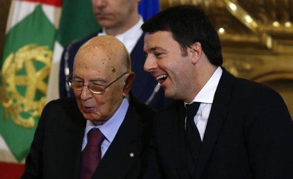 Napolitano-e-Renzi