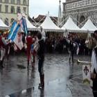 Sbandieratori a San Maria Novella