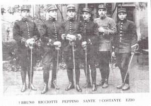 I fratelli Garibaldi sul fronte dolomitico