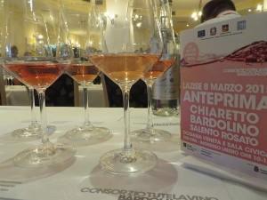 Rosa rosé Chiaretto Bardolino