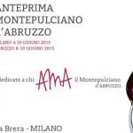 Il Montepulciano d'Abruzzo, si presenta a Milano