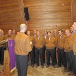 Il Coro della Sosat omaggia Franco Sartori