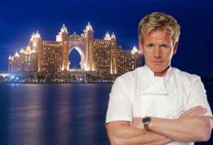 Ramsay, all'Atlantis The Palm