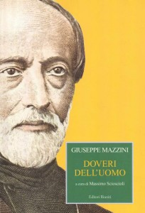 Mazzini, al centro l'Uomo