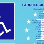 Parcheggio, nuovo contrassegno per invalidi