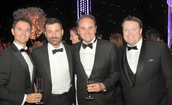 Losangeles-Emmy-Awards-Alessandro_Lunelli_Jimmy_Kimmel_Matteo_Lunelli_e_Jamie_Stewart_T