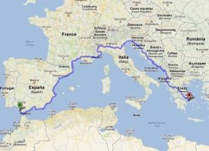 La pista ciclabile del Mediterraneo