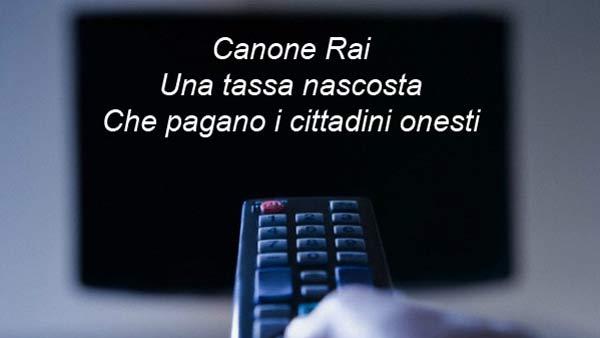 canone-rai-tassa per i cittadini-onesti
