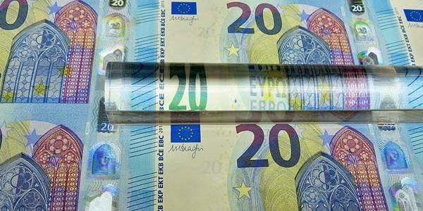Nuova banconota da venti euro