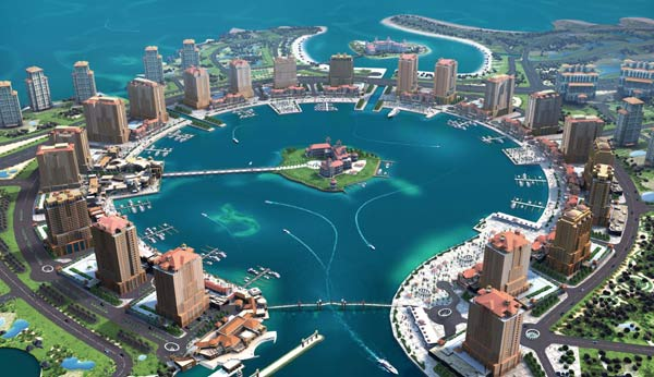 The-pearl-Qatar-one-of-the-largest-urban-developments-in-both-qatar-and-the-Midlle-East