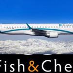 Air Dolomiti con Fish&Chef