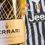 Juventus brinda con bollicine Ferrari