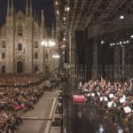 La Filarmonica, Chailly e Argerich in piazza Duomo