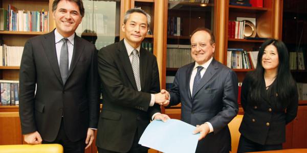Memorandum d'intesa Vinitaly International Hong Kong