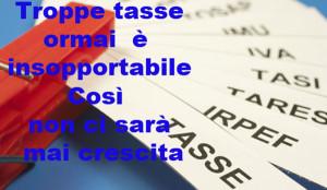 Peso fiscale non più sopportabile