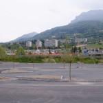 Area parcheggio a Trento Sud