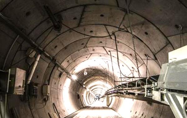 Lavori-Tunnel
