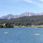 Sul lago di Davos