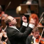 Arvo Volmer, direttore dell'Orchestra Haydn