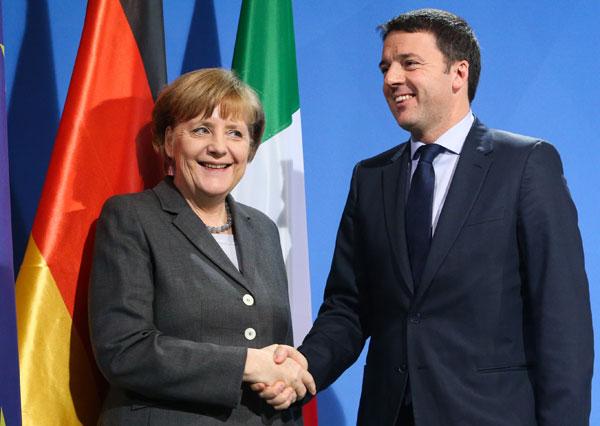 scelte-Merkel-Renzi