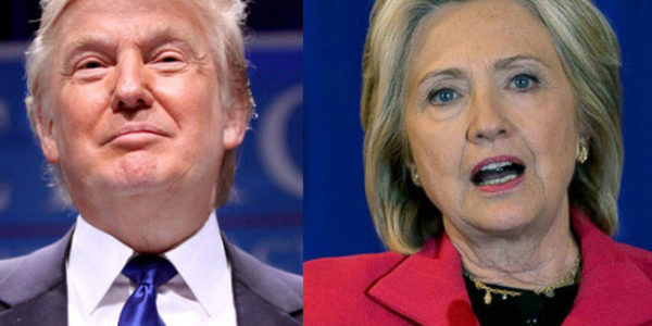 Trump e Clinton, voterei Trump