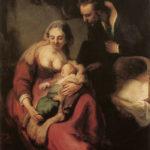Sacra Famiglia, l'ambientazione di Rembrandt