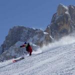 Tognola,Passo Rolle, sci a San Martino