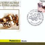 Francobolli con annullo postale a Bolzano