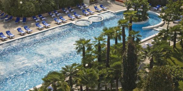 Terme di salute e bellezza all'Abano Grand Hotel