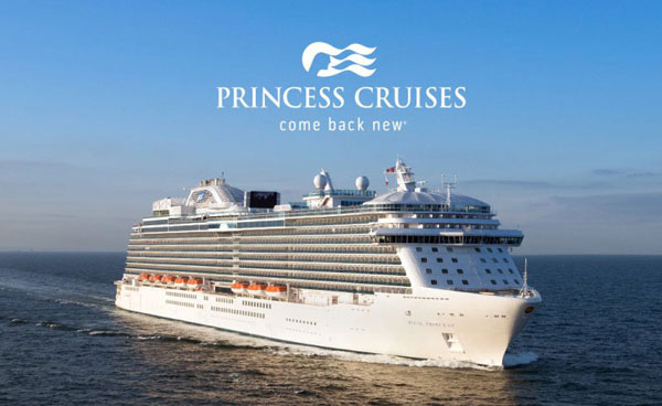 Princess Cruises. Appeal  europeo per il Sol Levante