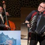 Fisarmonica e Contrabbasso Galliano e Carter  all'Elbphilharmonie Hamburg