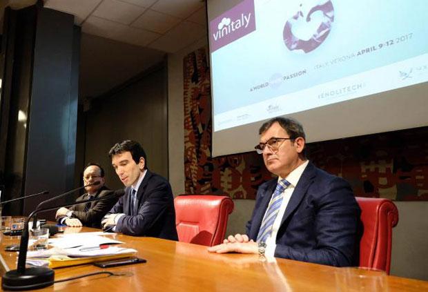 Wine, presentata a Roma la 51^ Edizione di Vinitaly, Martina, Mantovani
