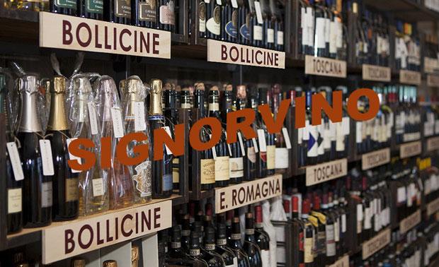 Store Signorvino, vini italiani di qualità