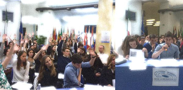 Studenti New Generation e i Trattati UE