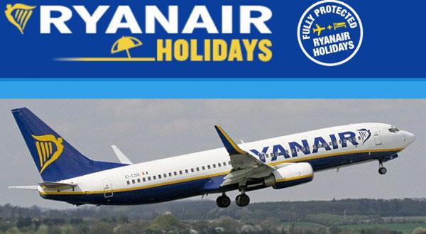 Pacchetti vacanza completi con Ryanair Holidays