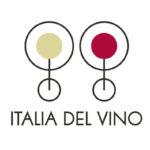 Logo, due bicchieri stilizzati, per Italia del Vino