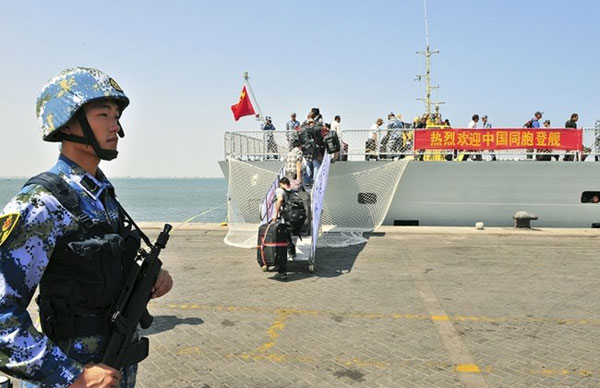 Base navale cinese a Gibuti