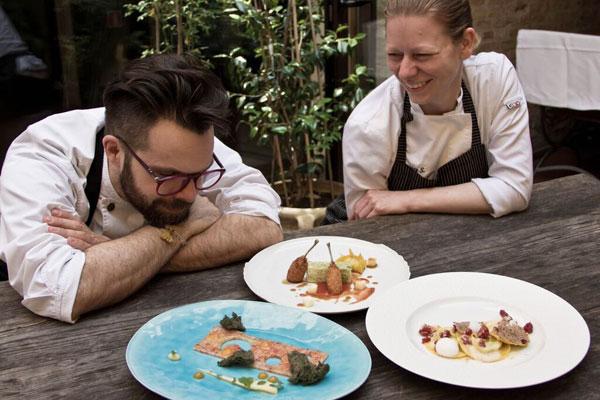 Gobbo e Simonetti per la cucina gourmet Le Beccherie