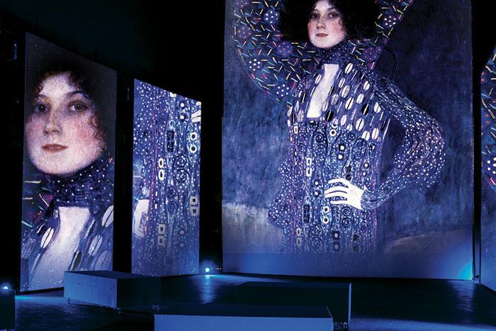 Experience multimediale Klimt, al Mudec Milano