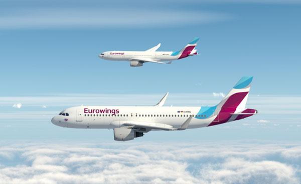 Eurowings da Monaco low cost a lungo raggio