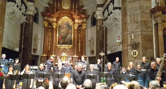 Concerto Italiano, una magnifica corale per il Vespro