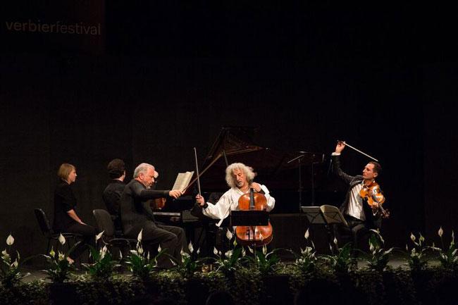 Mozart, Fauré, Dvořák con Maisky al Verbier Festival