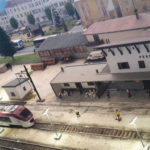 Plastico tratto linea ferroviaria della Valsugana