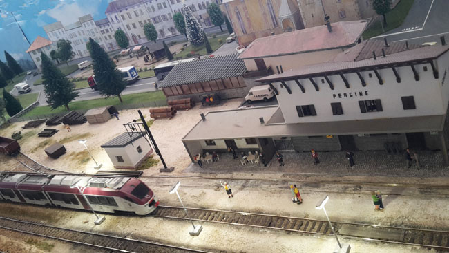 Plastico tratta ferroviaria della Valsugana