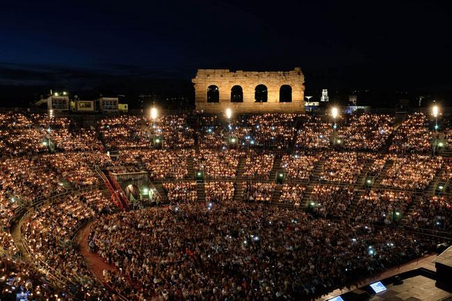 Festival lirico all'Arena, eccellenza culturale internazionale
