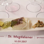 Tortelloni e Trilogia del baccalà per il versatile Santa Maddalena