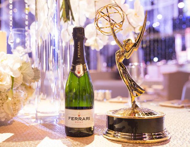 Emmy Awards brindisi con il Ferrari Brut Trentodoc