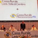 Fusione Cassa Rurale Lavis Mezzocorona Valle di Cembra