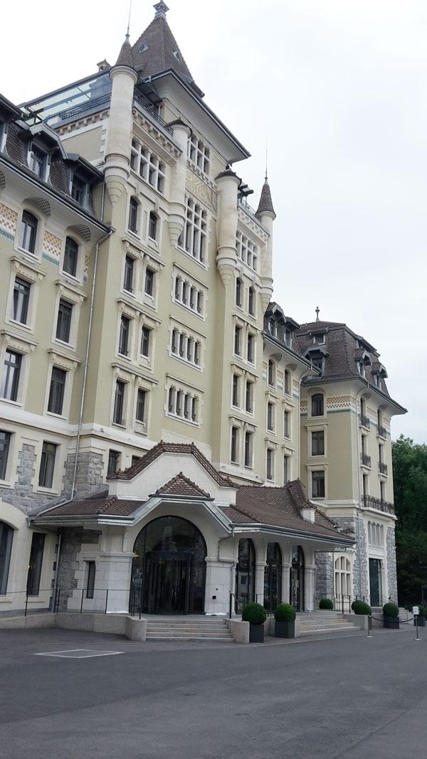 Maestoso il Royal Savoy, superlativa la SPA