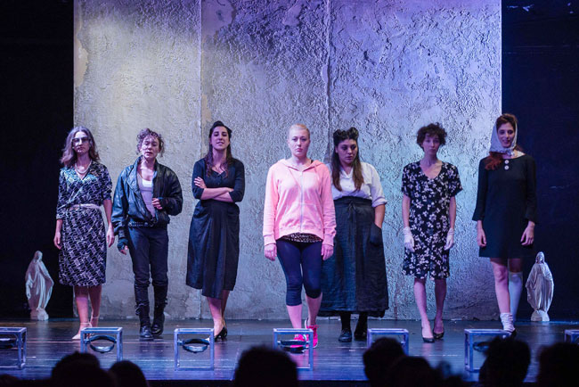 Carcere femminile, musical Città Inferno